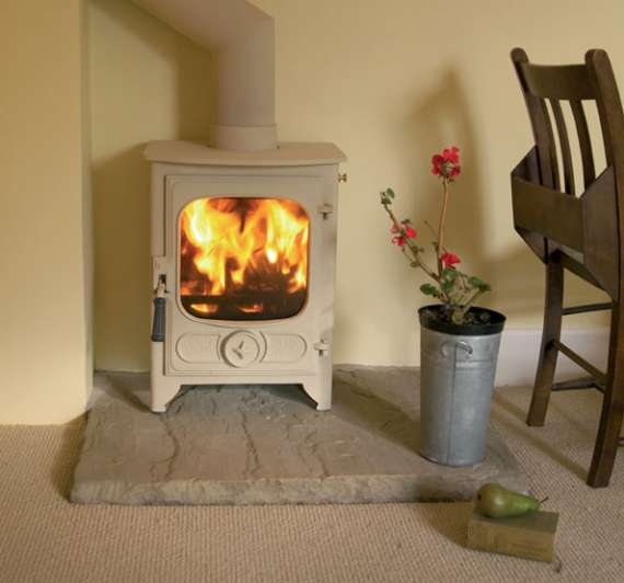 Small Wood Burning Stove Multi Fuel Charnwood Perth